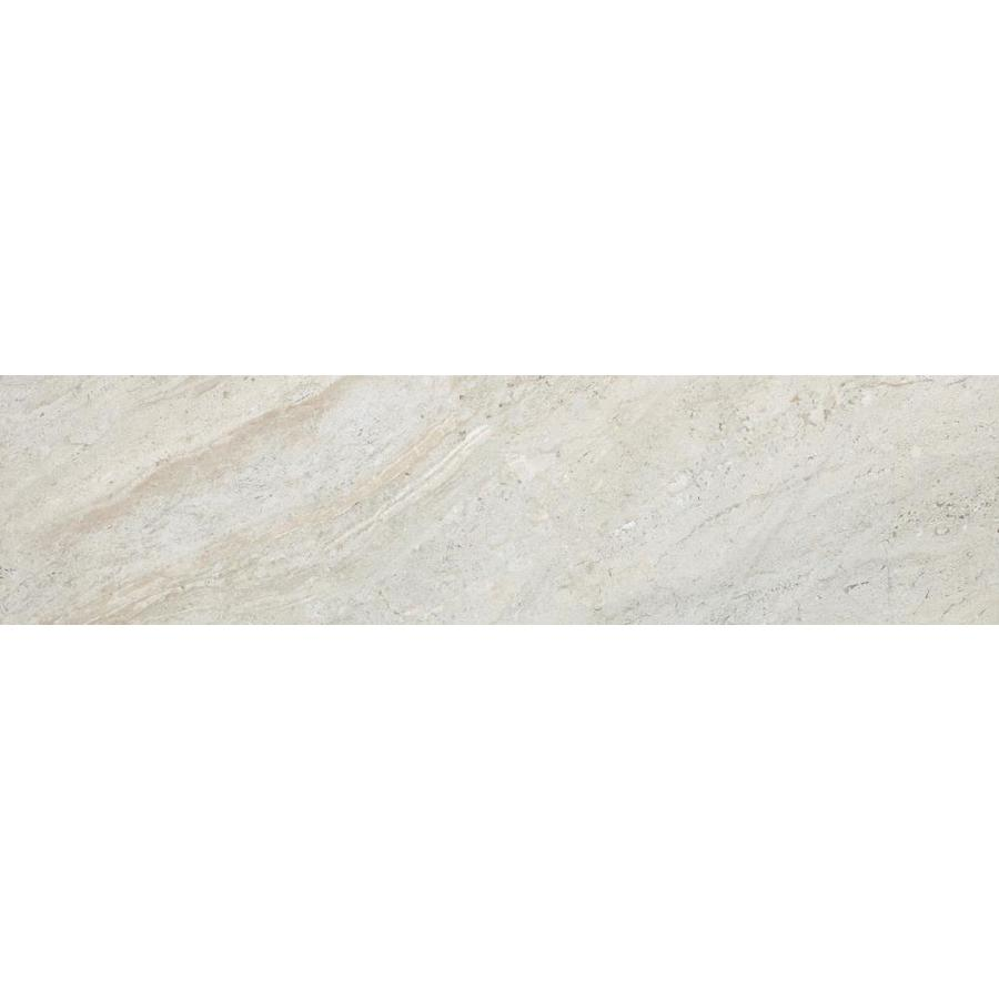 Style Selections Classico 13-Pack Taupe Porcelain Floor and Wall Tile (Common: 6-in x 24-in; Actual: 5.91-in x 23.62-in)