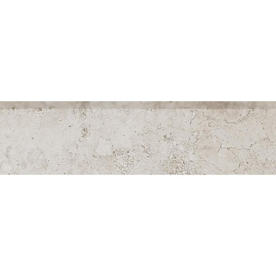 Style Selections Geneseo Beige Porcelain Bullnose Tile (Common: 3-in x 12-in; Actual: 11.76-in x 2.76-in)
