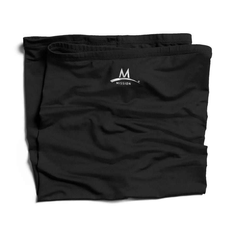 Mission Black Polyester Cooling Towel