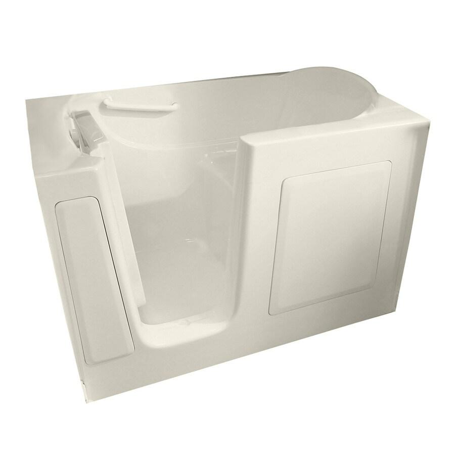 American Standard Walk-in Baths Linen Gelcoat and Fiberglass Rectangular Walk-in Whirlpool Tub (Common: 30-in x 60-in; Actual: 38-in x 30-in x 60-in)