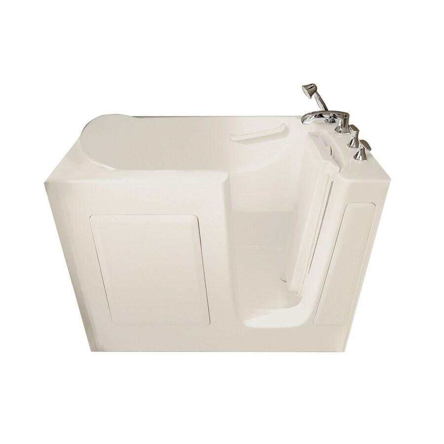 American Standard Walk-in Baths Linen Gelcoat and Fiberglass Rectangular Walk-in Whirlpool Tub (Common: 30-in x 50-in; Actual: 37-in x 30-in x 50-in)