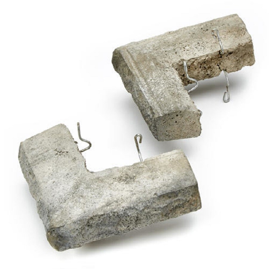 ClipStone 16-in x 2.75-in Smoke Sill Stone Veneer Trim
