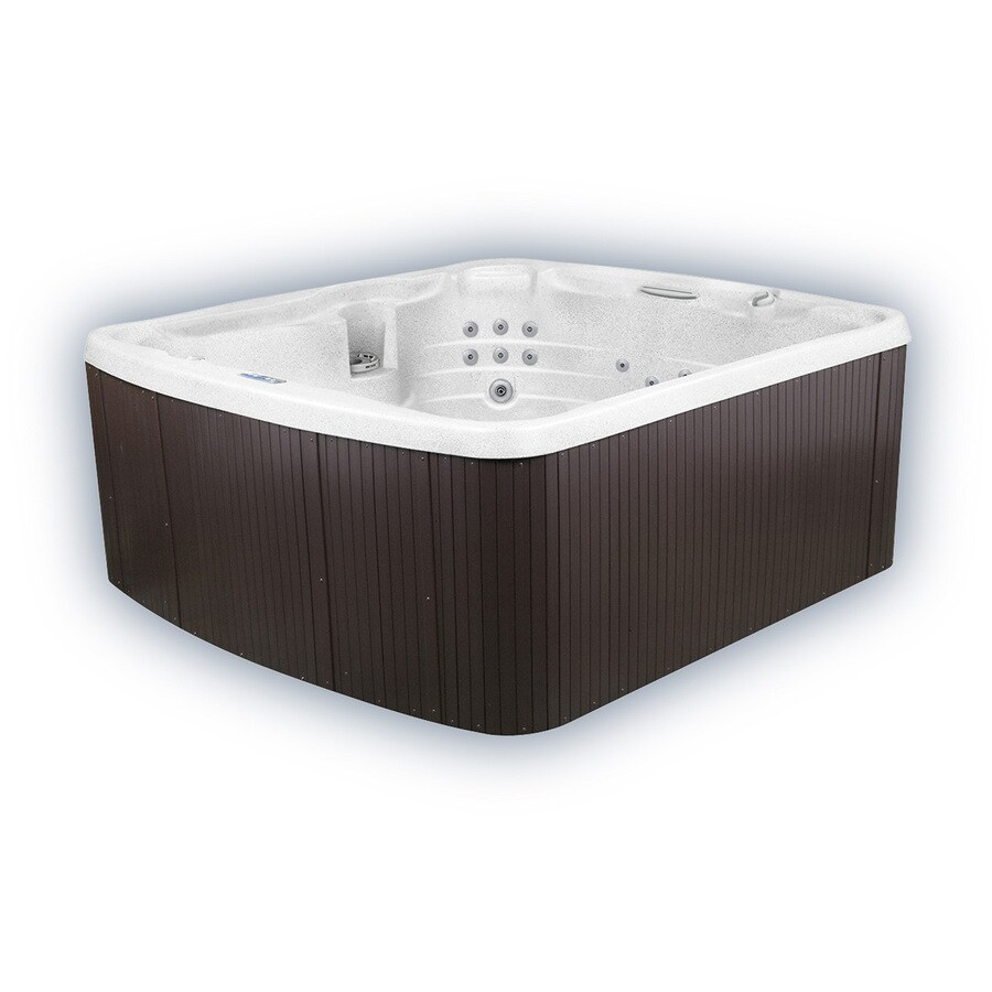 LifeSmart Oasis Arctic White 6 Person Hot Tub