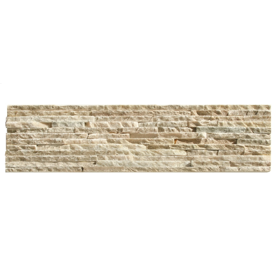 Solistone Portico Slate 6-Pack Baia Slate Wall Tile (Common: 6-in x 23-in; Actual: 6-in x 23.5-in)