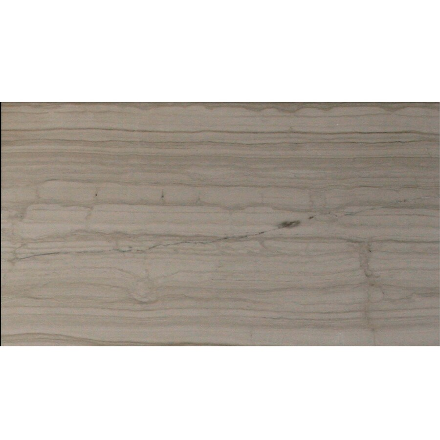 Solistone Haisa Marble 10-Pack Haisa Dark Marble Wall Tile (Common: 6-in x 12-in; Actual: 6-in x 12-in)