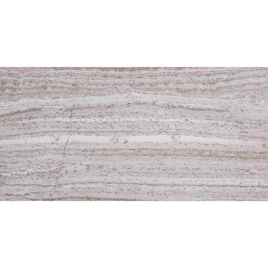 Solistone Haisa Marble 40-Pack Haisa Light Marble Wall Tile (Common: 3-in x 6-in; Actual: 3-in x 6-in)