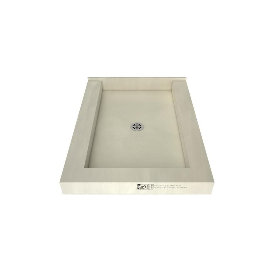 Tile Ready Made for Tile Fiberglass and Plastic Shower Base (Common: 48-in W x 37-in L; Actual: 48-in W x 37-in L)