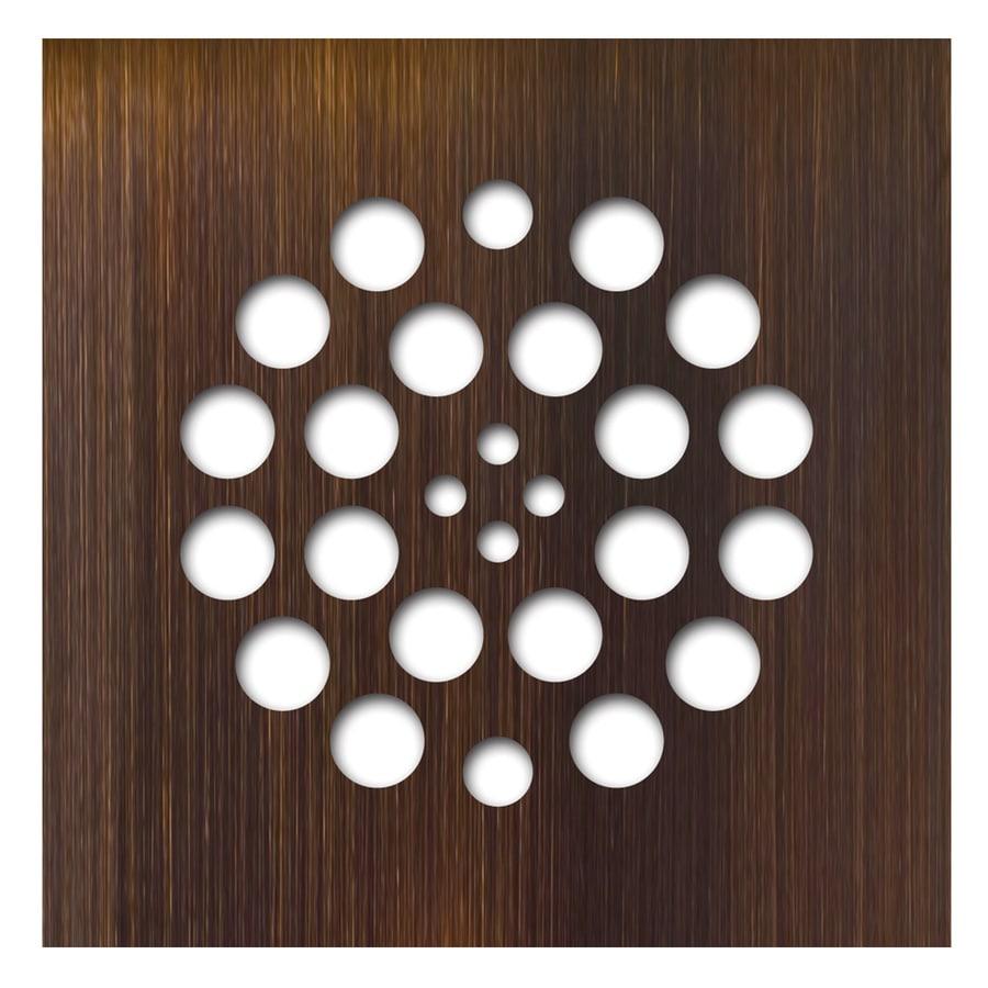 Redi Drain Oil-Rubbed Bronze Metal Drain Cover