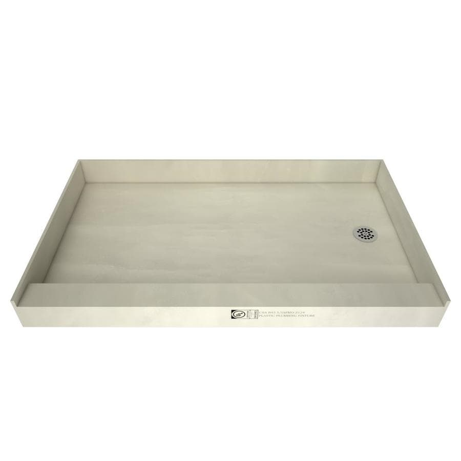 Redibase Made for Tile Molded Polyurethane Shower Base (Common: 32-in W x 60-in L; Actual: 32-in W x 60-in L)