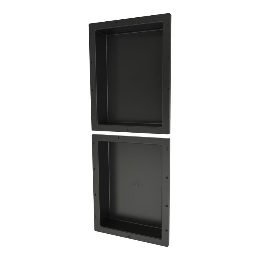 Tile Ready Niche Wall : Shop redi niche tile black shower wall shelf at lowes