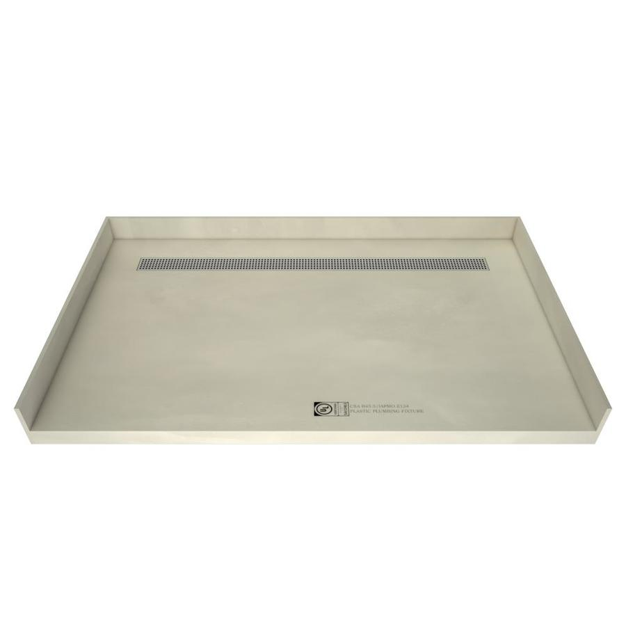 Redi Trench Made for Tile Molded Polyurethane Shower Base (Common: 30-in W x 63-in L; Actual: 30-in W x 63-in L)