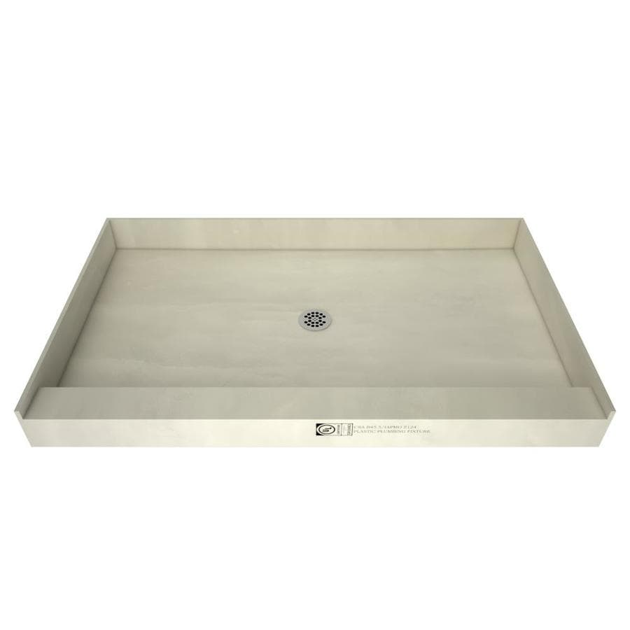 Redibase Made for Tile Molded Polyurethane Shower Base (Common: 36-in W x 48-in L; Actual: 36-in W x 48-in L)