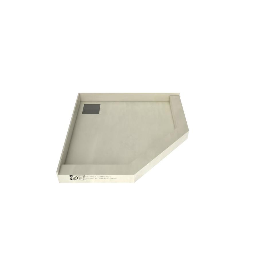 Redi Neo Made for Tile Molded Polyurethane Shower Base (Common: 46-in W x 46-in L; Actual: 46-in W x 46-in L)
