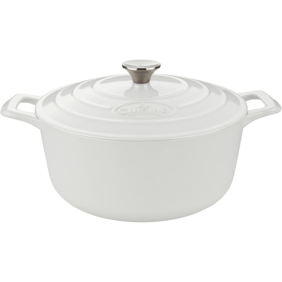 La Cuisine 2.2-Quart Cast Iron Dutch Oven with Lid