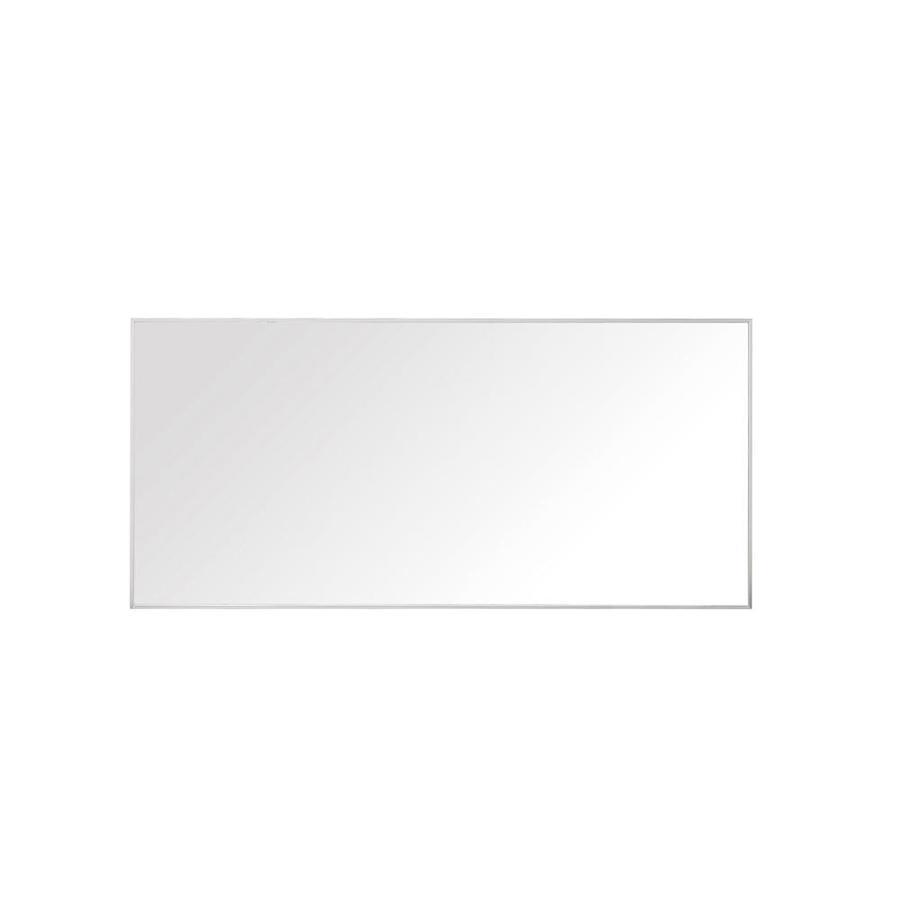 Avanity Sonoma 1.5-in W x 27.6-in H Matte White Rectangular Bathroom Mirror