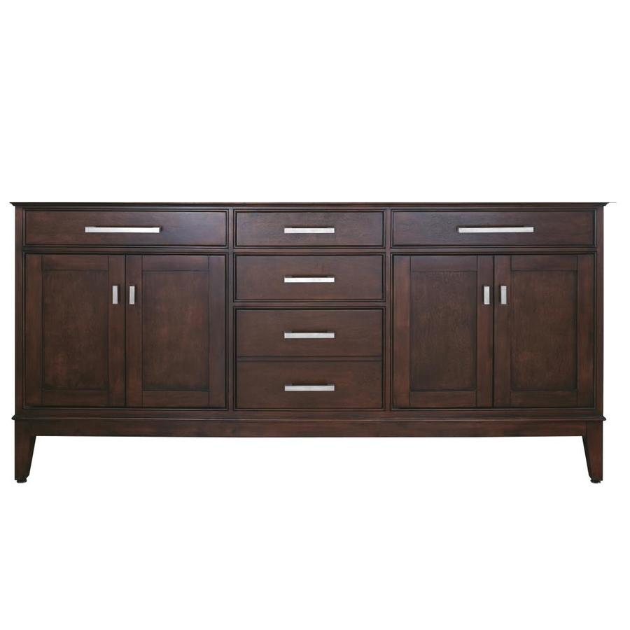 Beautiful Bathroom Vanity American Walnut 60quot Transitionalbathroomvanities