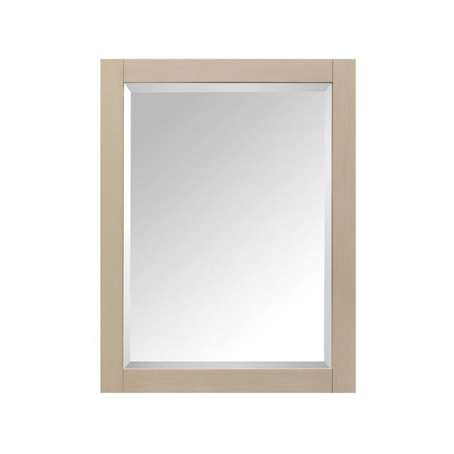Avanity 24-in x 30-in Rectangle Surface Mirrored Wood Medicine Cabinet