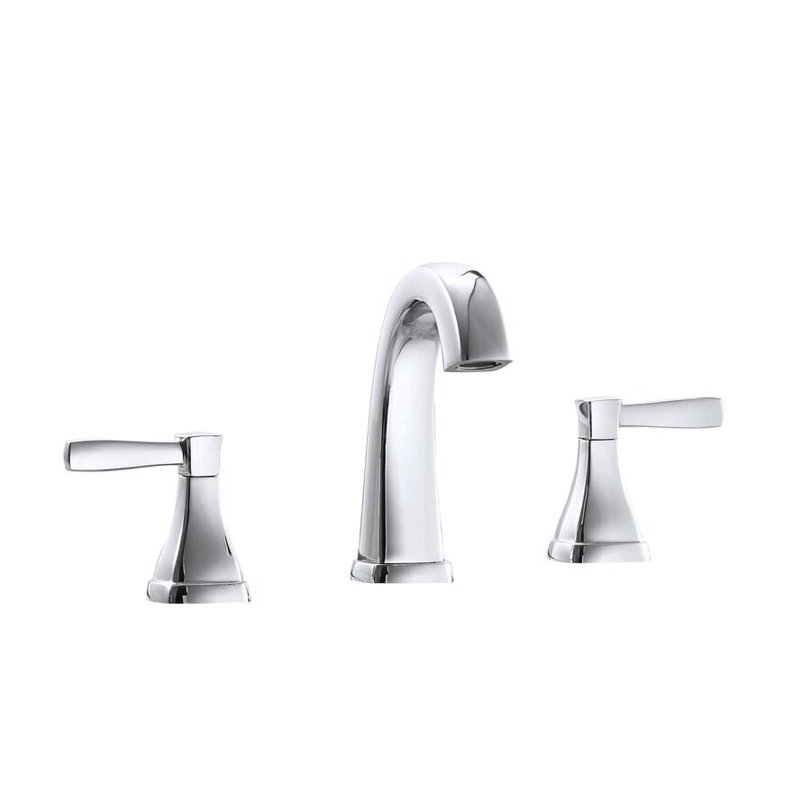 Avanity Chrome Polish 2-Handle WaterSense Commercial Bathroom Faucet (Drain Included)
