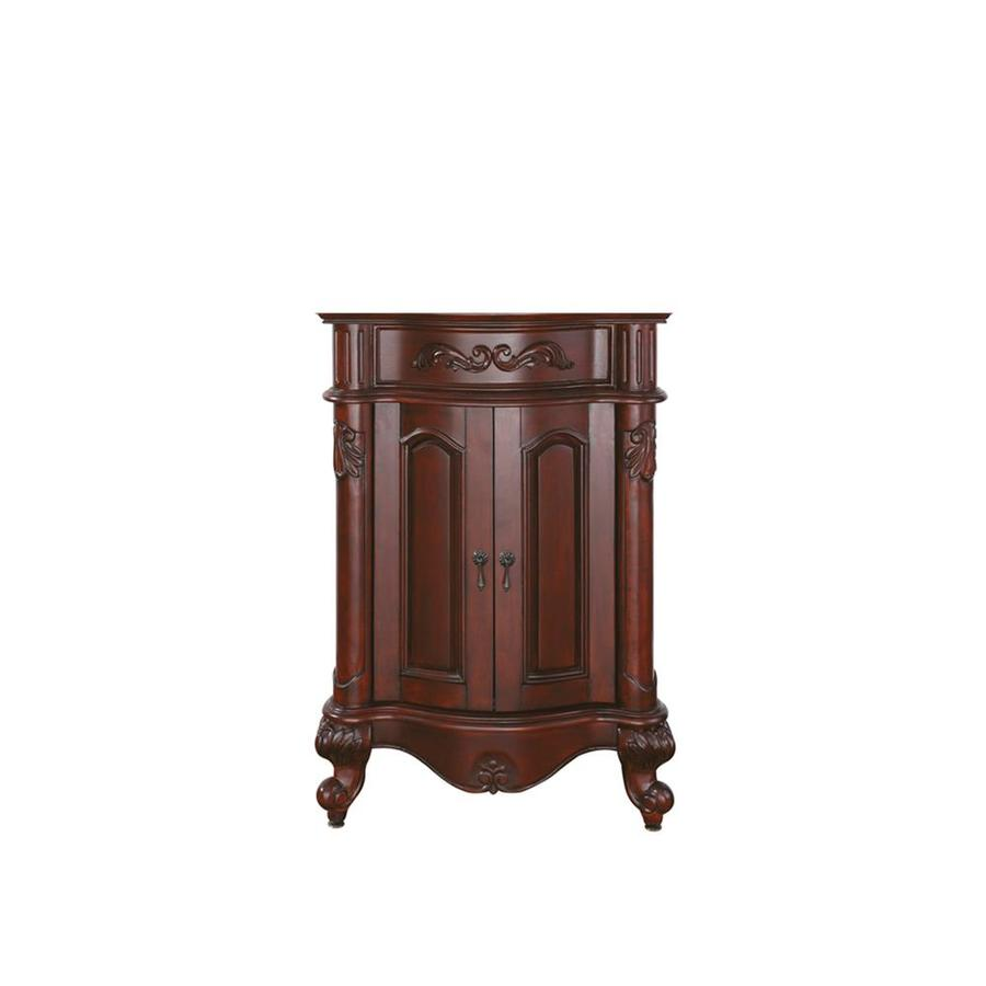 Avanity Provence Antique Cherry Traditional Bathroom Vanity (Common: 24-in x 20-in; Actual: 24-in x 20-in)