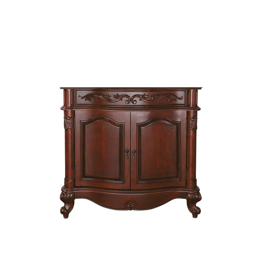 Avanity Provence Antique Cherry Traditional Bathroom Vanity (Common: 36-in x 21-in; Actual: 36-in x 21.5-in)