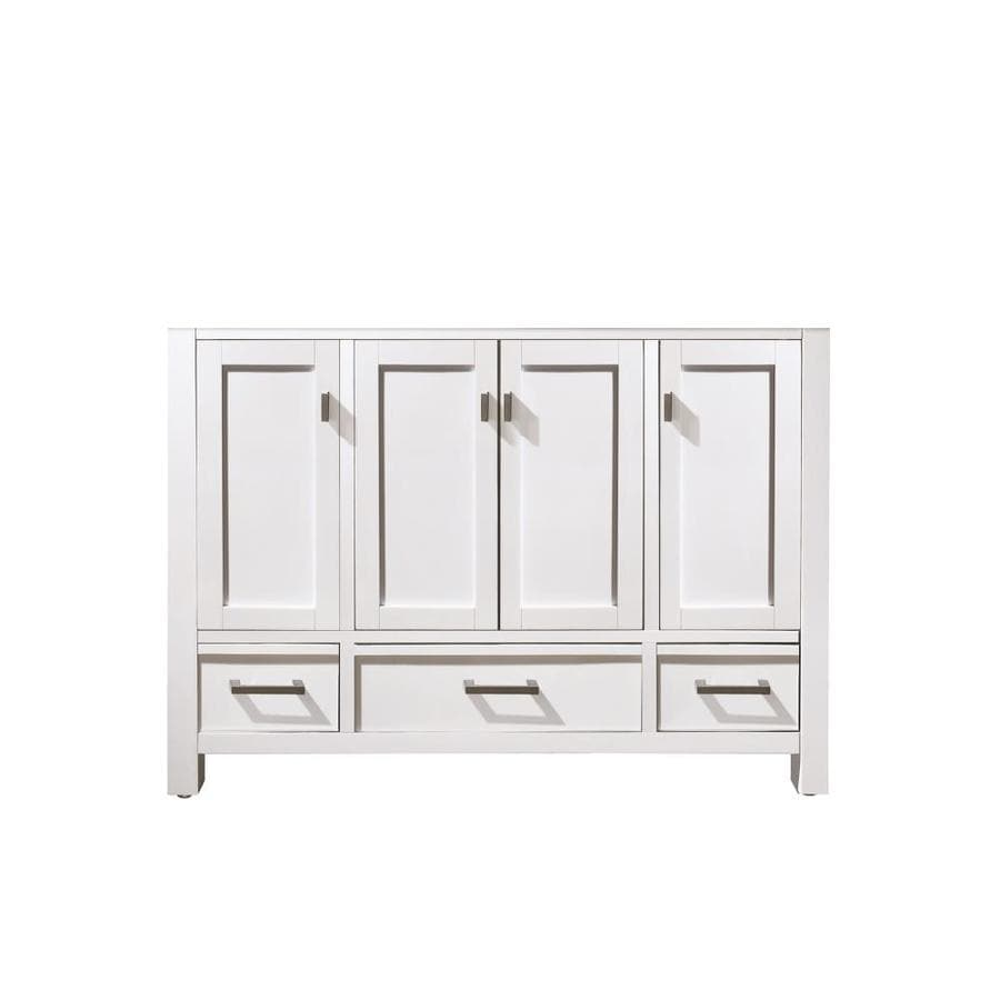 Shop Avanity Modero White Casual Bathroom Vanity Common