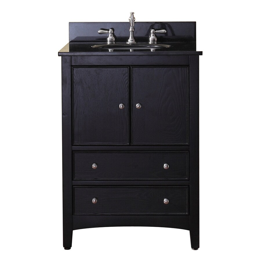 Avanity Westwood Ebony Casual Bathroom Vanity (Common: 24-in x 21-in; Actual: 24-in x 21-in)