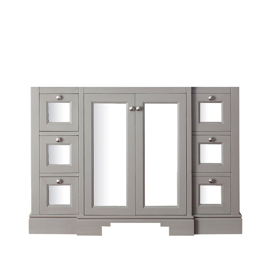 Avanity Newport French Gray Traditional Bathroom Vanity (Common: 48-in x 22-in; Actual: 48-in x 21.5-in)