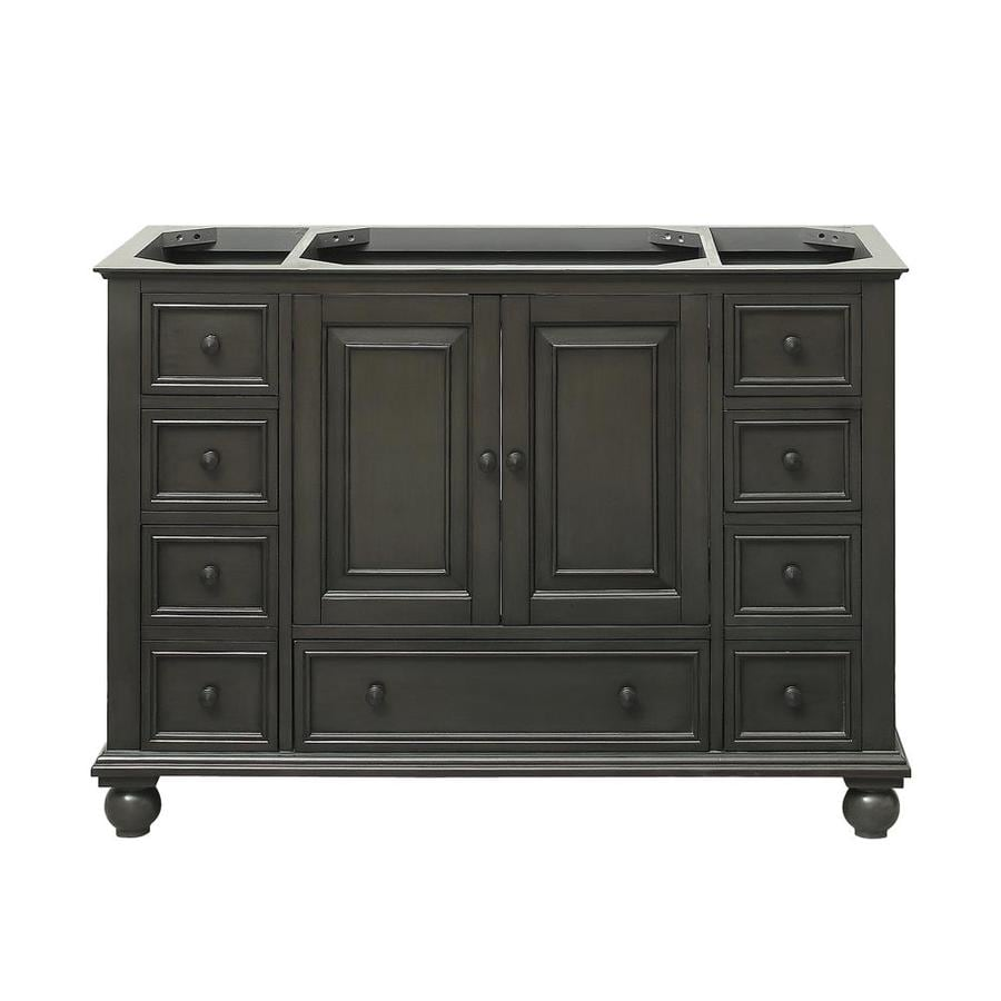 Avanity Thompson Charcoal Glaze Traditional Bathroom Vanity (Common: 48-in x 21-in; Actual: 48-in x 21-in)
