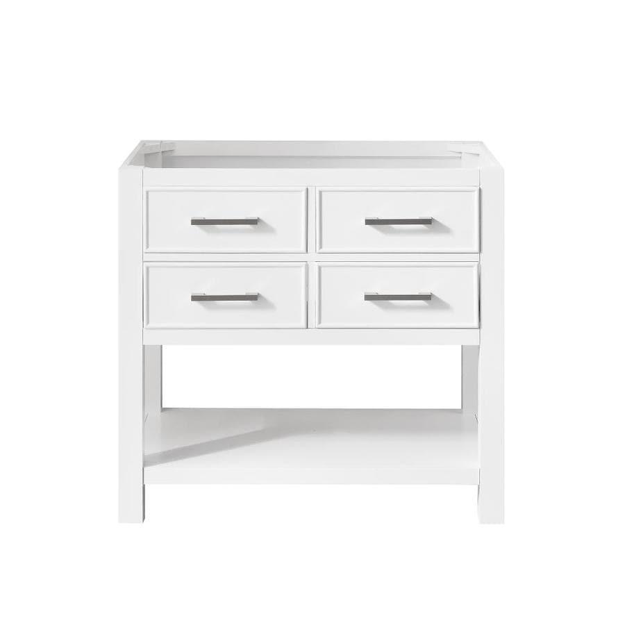 36 Inch White Bathroom Vanity Cabinets