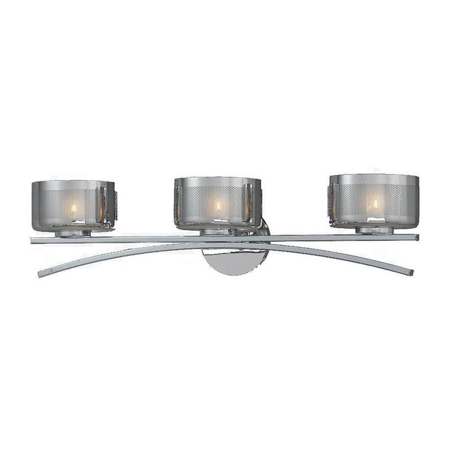 Pandora 3-Light Chrome Vanity Light