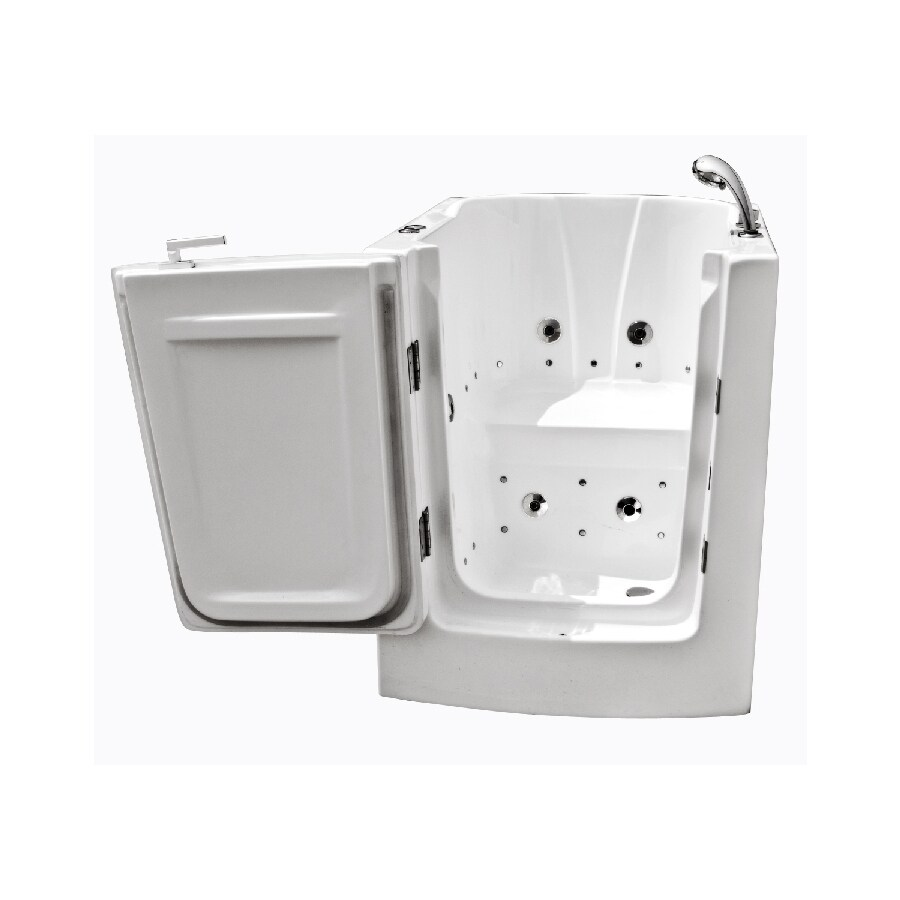 Shop Endurance Endurance Tubs 32 In L X 38 In W X 38 In H White Acrylic Recta