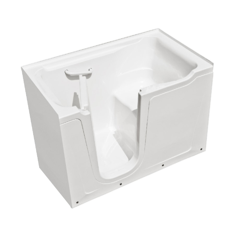 Endurance Acrylic Rectangular Walk-in Bathtub with Left-Hand Drain (Common: 36-in x 60-in; Actual: 38-in x 36-in x 60-in)