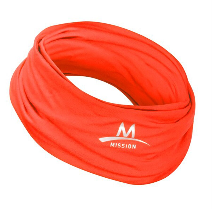 Mission Coral Polyester Cooling Towel