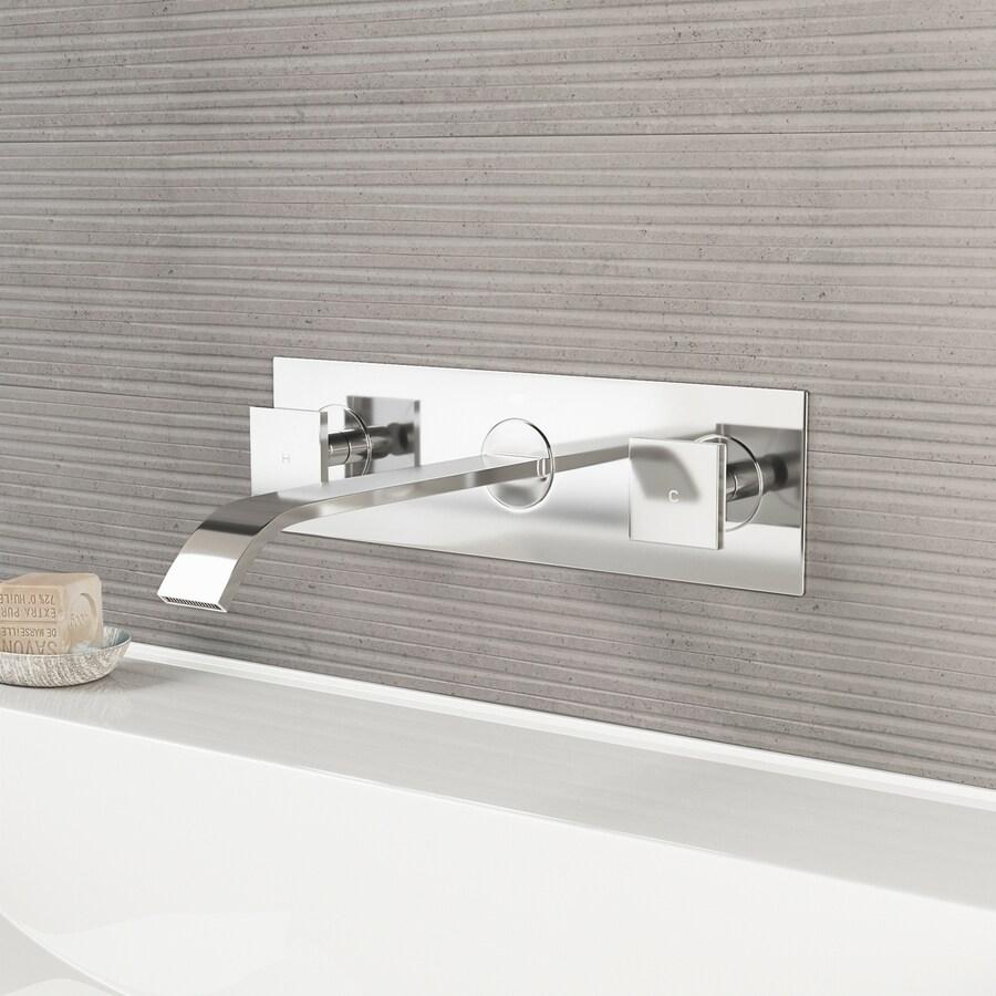 VIGO Chrome 2-Handle 4-in Centerset WaterSense Bathroom Faucet