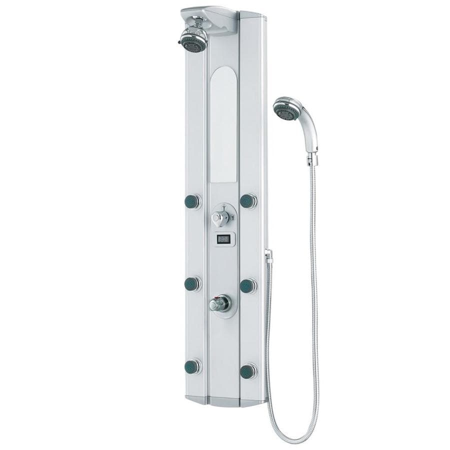 VIGO 4-Way Satin Shower Panel System