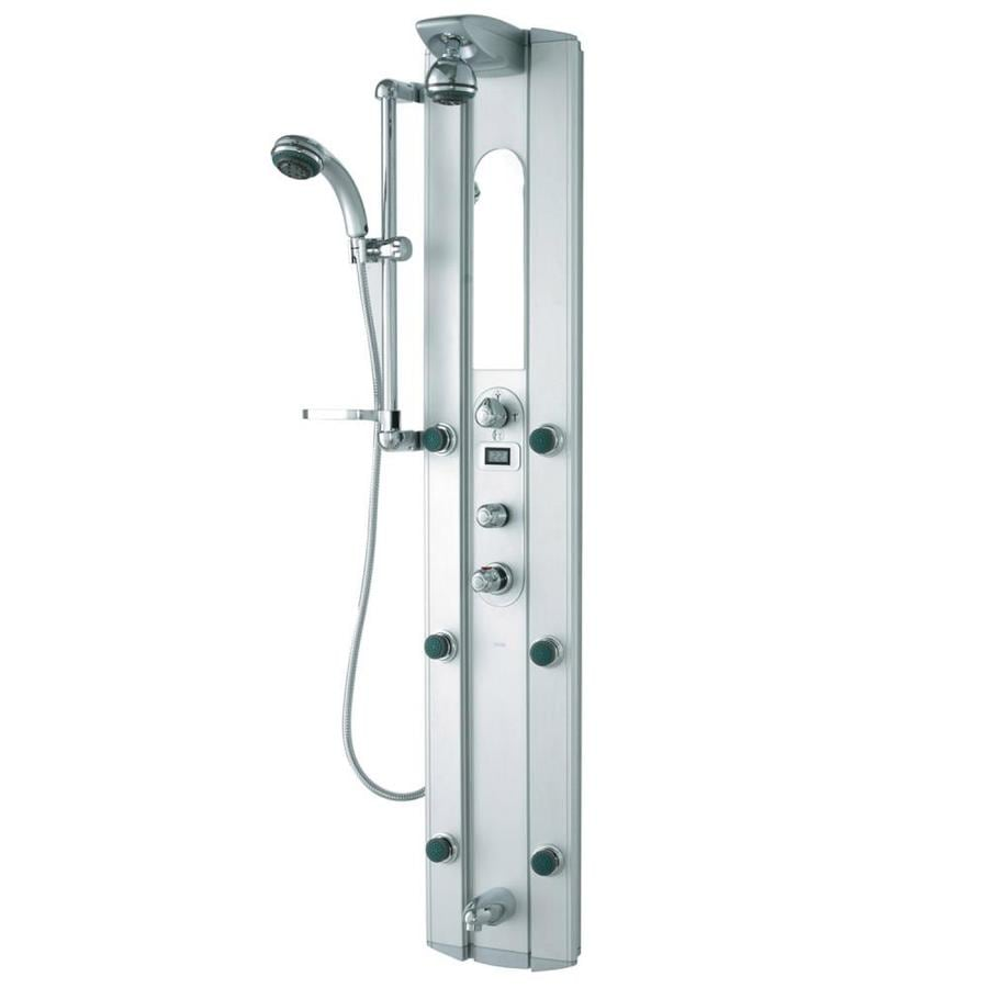 Shop VIGO 3 Way Satin Shower Panel System At Lowes