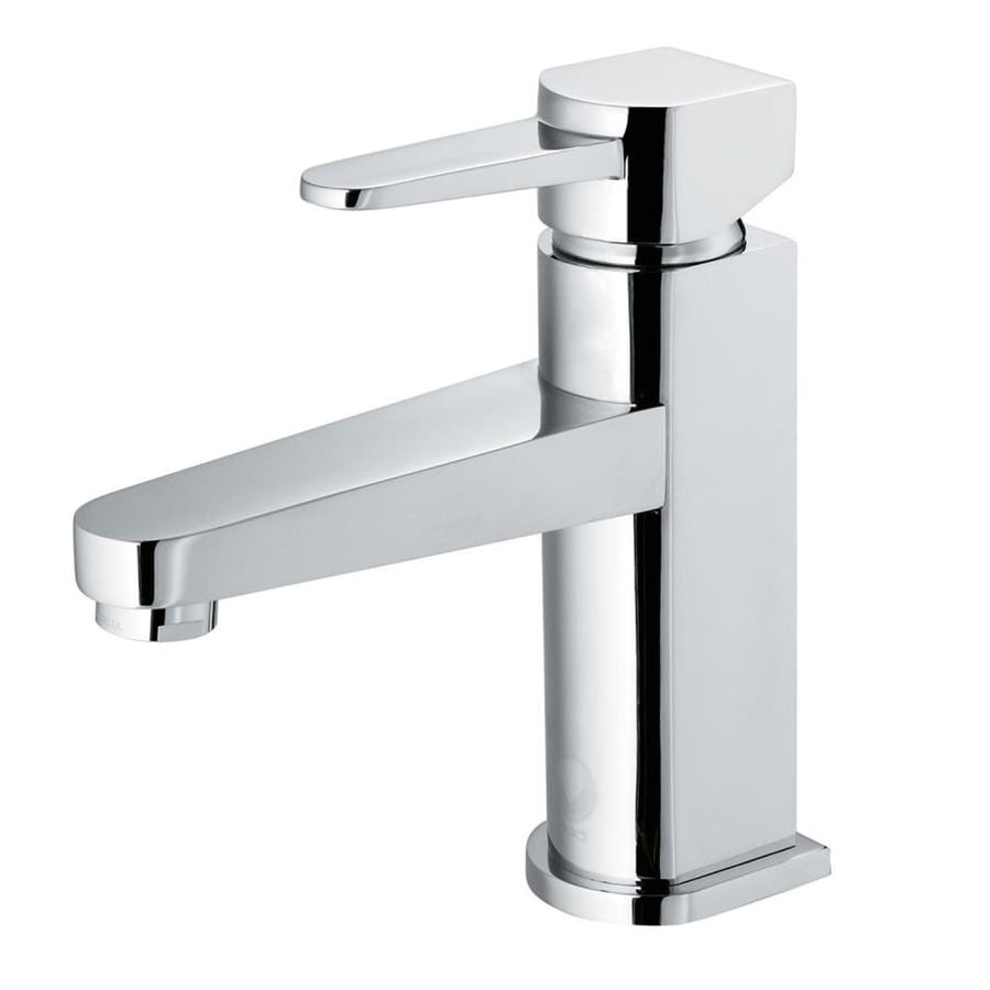 VIGO Chrome 1-Handle Single Hole WaterSense Bathroom Faucet