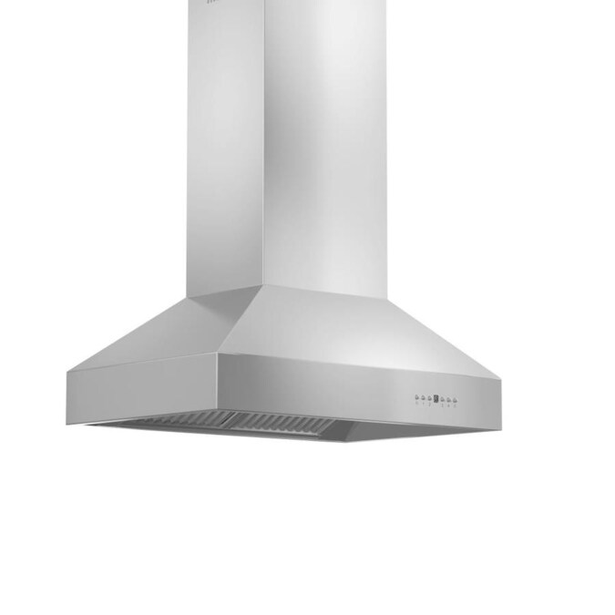 Zline Kitchen Amp Bath 36 In Ducted Stainless Steel Island