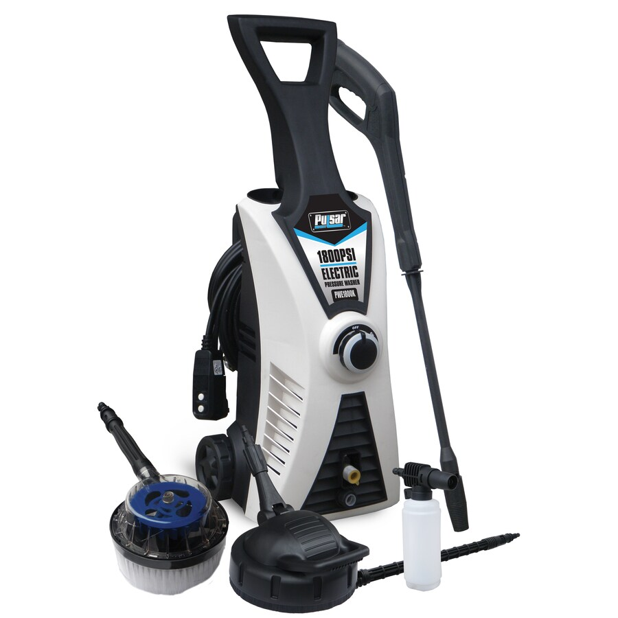 Pulsar Products 1800-PSI 1.6-Gallon-GPM Cold Water Electric Pressure Washer