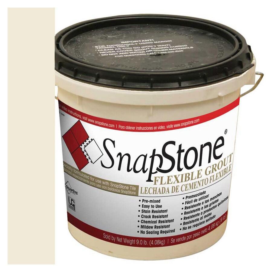 SnapStone 9-lb Bone Urethane Premixed Grout