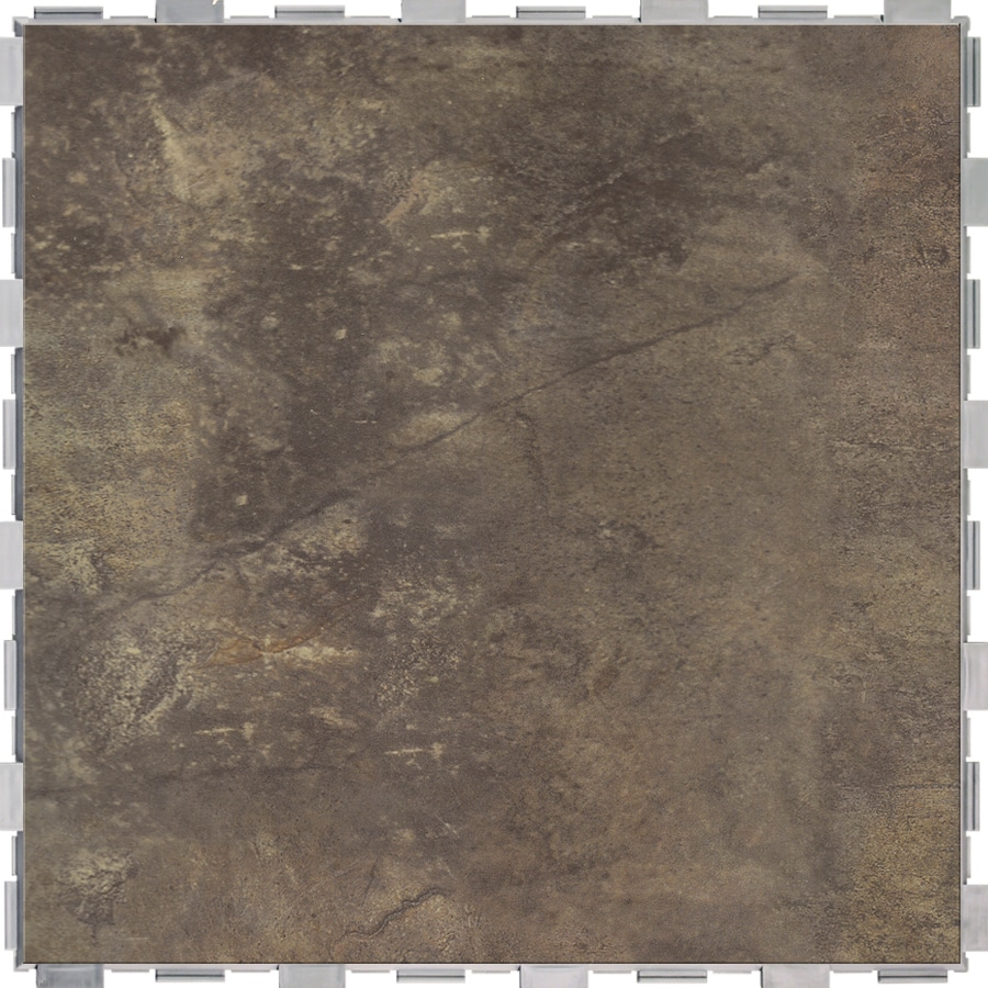 Shop snapstone interlocking 4 pack metropolitan porcelain floor tile common 18 in x 18 in - Lowes floor tiles porcelain ...