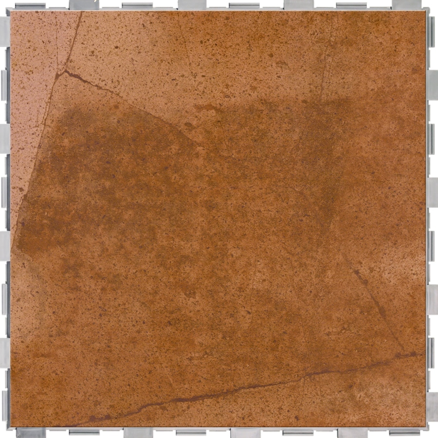 SnapStone 4-Pack Ferrous Porcelain Floor Tile (Common: 18-in x 18-in; Actual: 18-in x 18-in)
