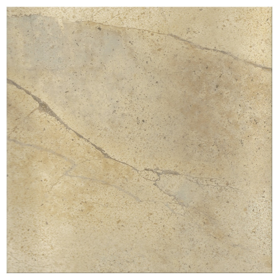 Shop snapstone non interlocking 6 pack stucco porcelain for 18 inch floor tile