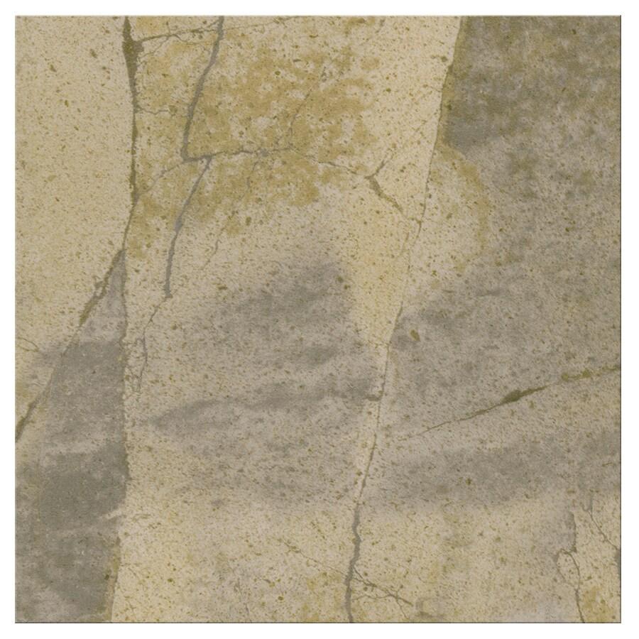 SnapStone Non-Interlocking 6-Pack Bedrock Porcelain Floor Tile (Common: 18-in x 18-in; Actual: 17.74-in x 17.74-in)
