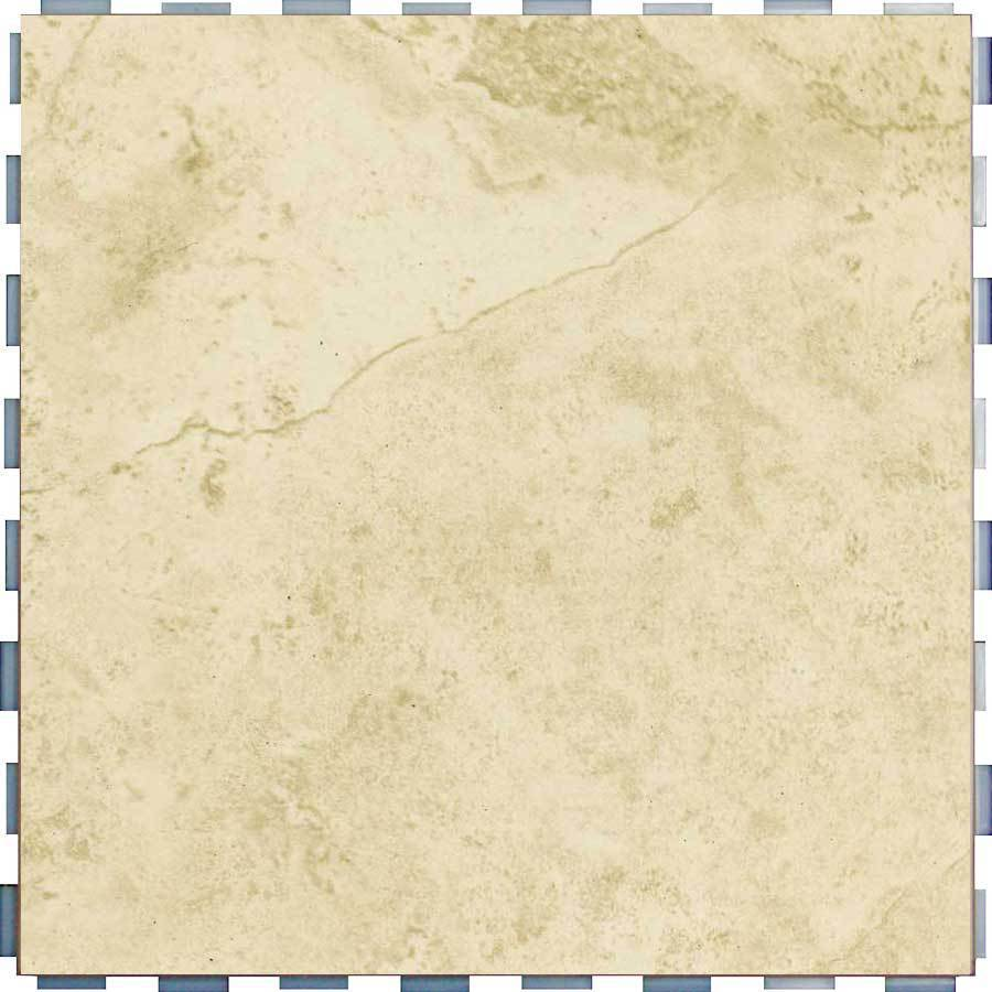 SnapStone 5-Pack Interlocking Beige Glazed Porcelain Floor Tile (Common: 12-in x 12-in; Actual: 12-in x 12-in)