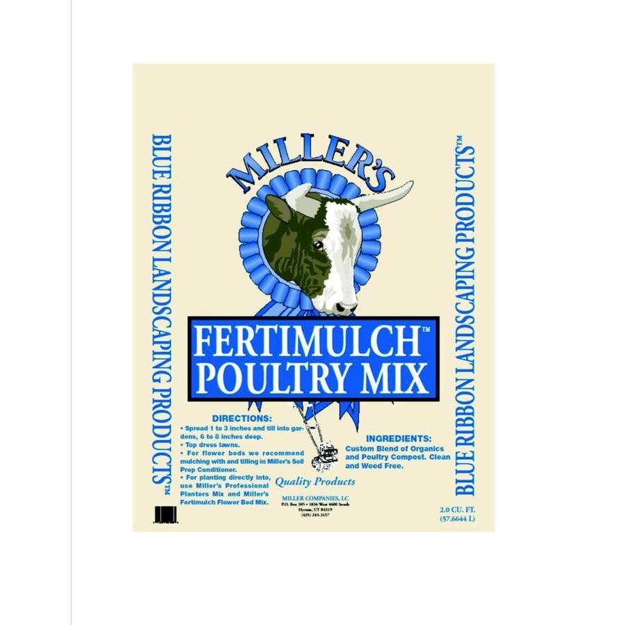 Fertimulch 2-cu ft Organic Compost