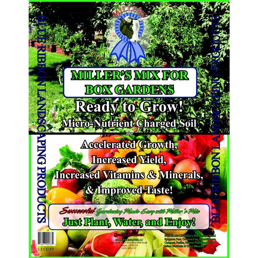 Miller LLC 1.5-cu ft Organic Flower and Vegetable Garden Soil