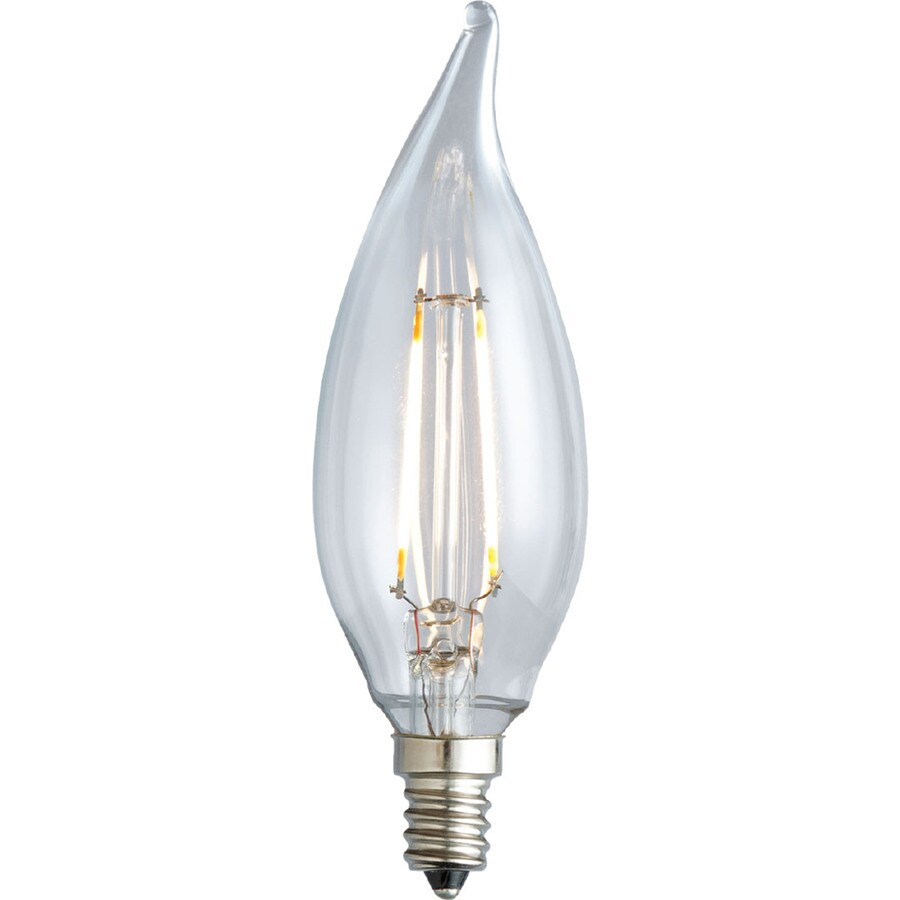 Kichler Lighting Decorative 3.5-Watt (40W Equivalent) 2,700K Medium Base (E-26) Soft White Dimmable Decorative LED Light Bulb