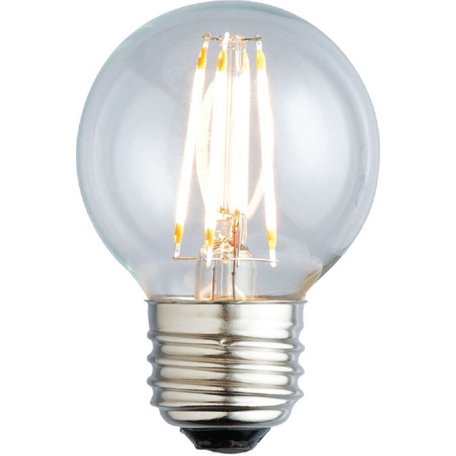 Kichler Lighting Decorative 4.5-Watt (60W Equivalent) 2,700K Medium Base (E-26) Soft White Dimmable Decorative LED Light Bulb