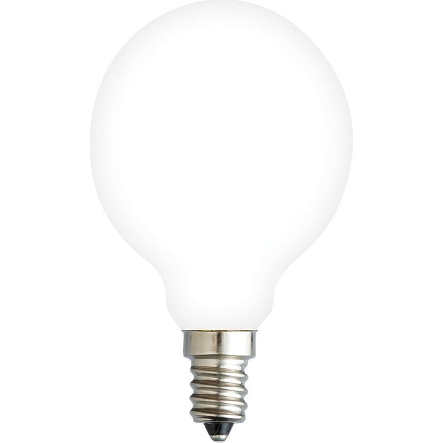 Kichler Lighting Decorative 3.5-Watt (40W Equivalent) 2,700K Candelabra Base (E-12) Soft White Dimmable Decorative LED Light Bulb